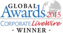 Global Awards - Corporate Livewire Winner 2015