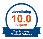 Avvo Rating - Criminal Defense