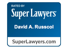 Super Lawyers badge - David Russcol