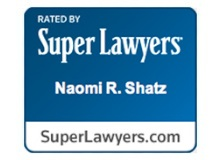 Super Lawyers badge - Naomi Shatz